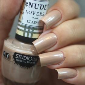 Esmalte Studio 35 #NudeQueBrilha Coleção #NudeLoversClassic