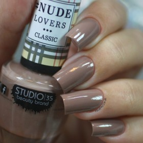 Esmalte Studio 35 #ToqueDeNude Coleção #NudeLoversClassic