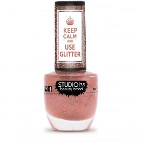 Esmalte Studio 35 #VaiComTudo Coleção Use Glitter