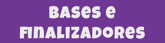 bases e finalizadores