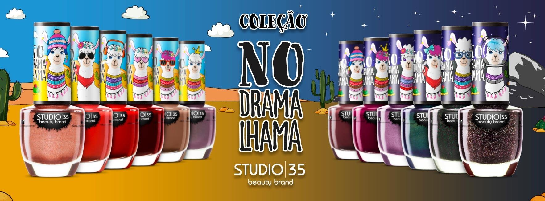 Esmaltes Coleção No Drama Lhama Studio 35